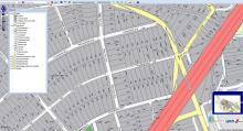 Városgazda - Földhivatali térkép helyrajzi számokkal